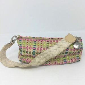 The Sak Tan Multi Colored Woven Shoulder Bag